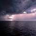 Stormy Night- Mediterranean Sea
