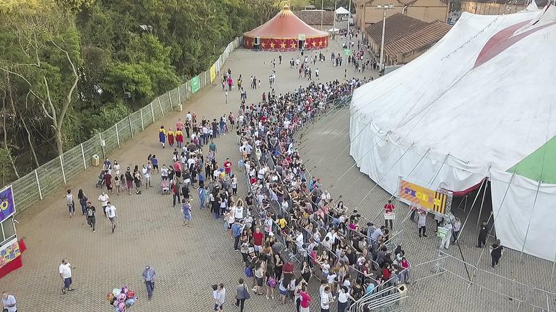 Festival Paulista de Circo - Imagens Aéreas