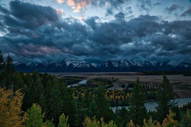 Grand Teton Sunset 8962-8962