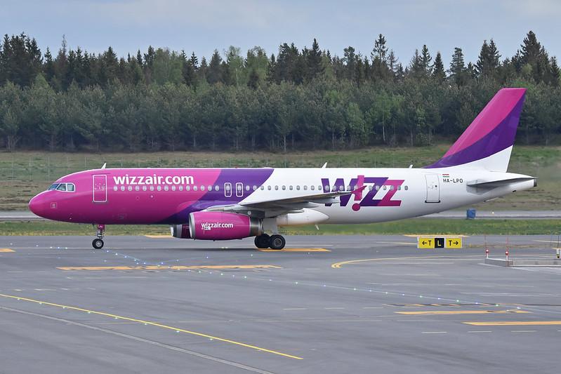 Airbus A320-232 'HA-LPO' Wizzair