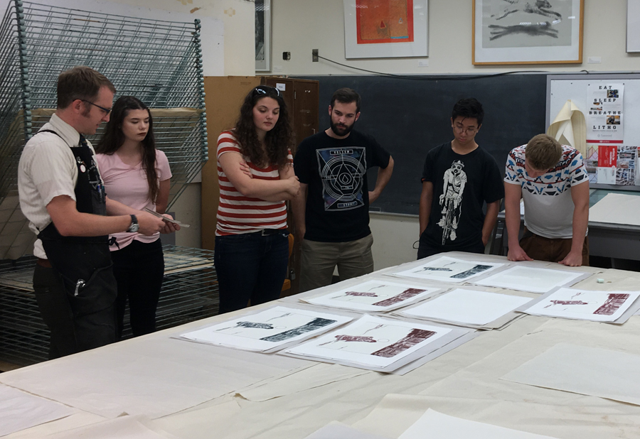 Lithography Class reviews project