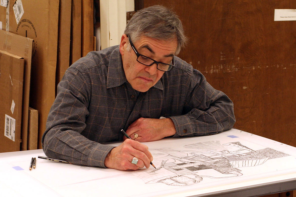 John Himmelfarb drawing