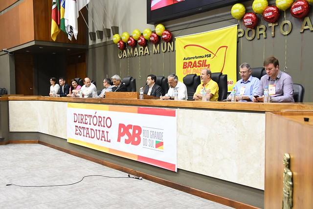 Reunião Ampliada do Diretório do PSB-RS sobre autorreforma - 23/11/2019