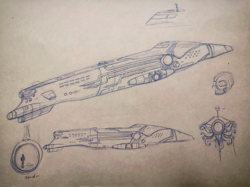 Concept sketch: The Nautilus