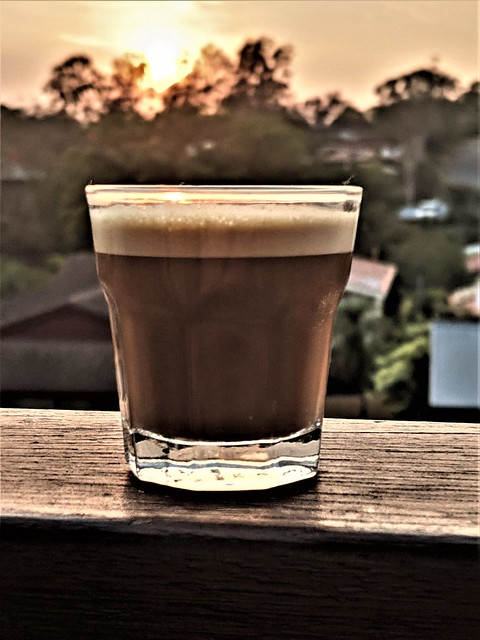 Coffee on the deck as the sun rises ------------- 20191211051414948_COVER (3)
