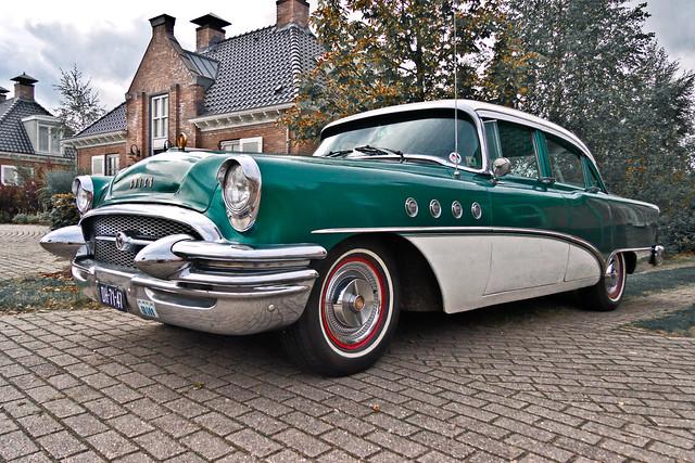 Buick Roadmaster Riviera Sedan 1955 (3486)
