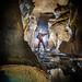 Dans les galeries du gouffre de Pourpevelle - Soye (25) - France