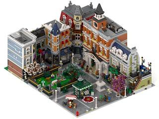 Lego Modular Expansion Pack big square