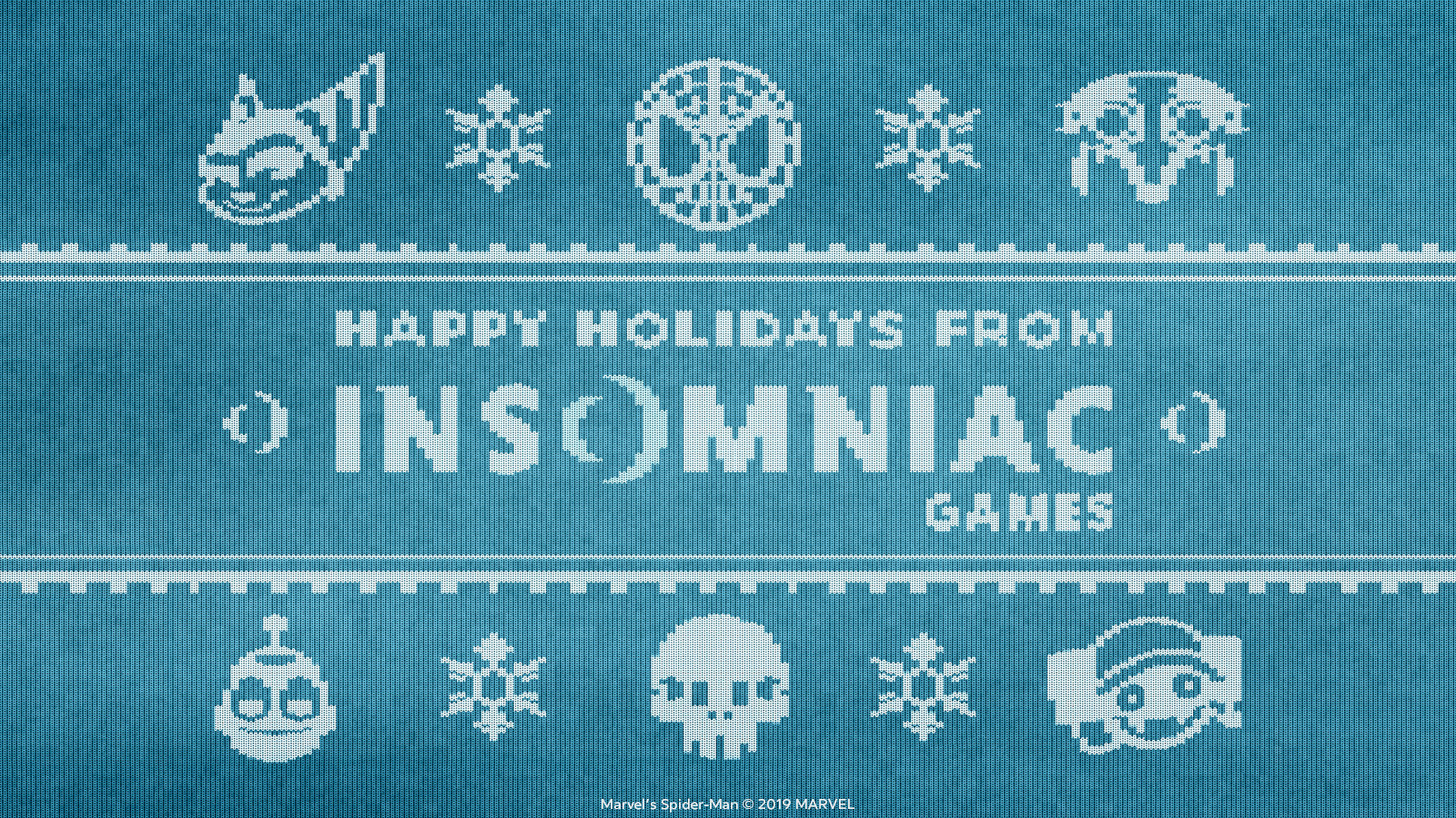 Insomniac Holiday Card 2019