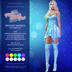 Monthly Midnight Madness December 2019 Round
