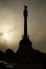Monumento a Cristobal Colon en Barcelona