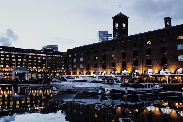 Last look at St Katharine Docks