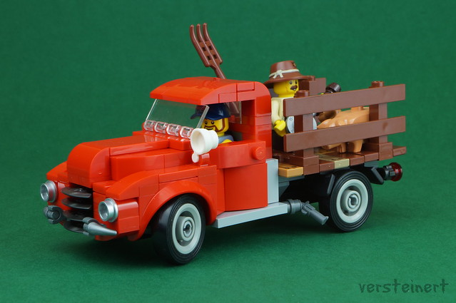 Chevy Advance inspired vintage truck