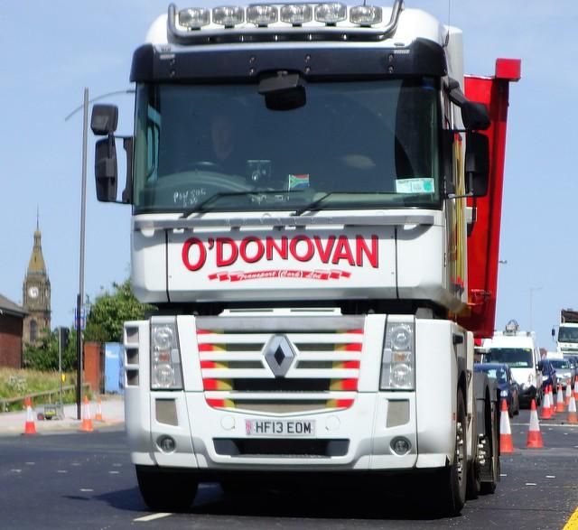 O'Donovan Transport Ltd Renault Magnum 480 HF13 EOM