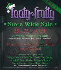 Tooty Fruity Christmas Sale!