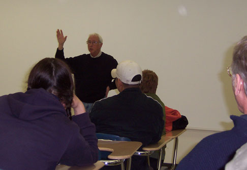 Harold Boyd's public lecture
