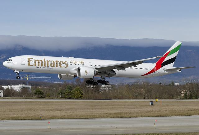 A6-ECV  Emirates Boeing 777-31H/ER