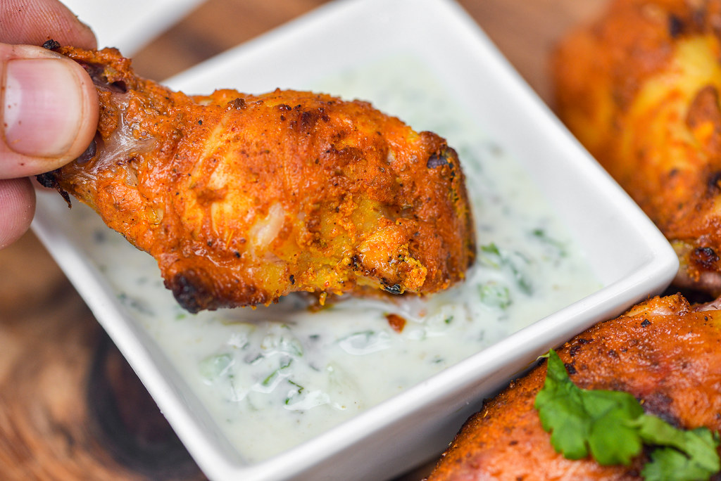 Chicken Tikka Wings