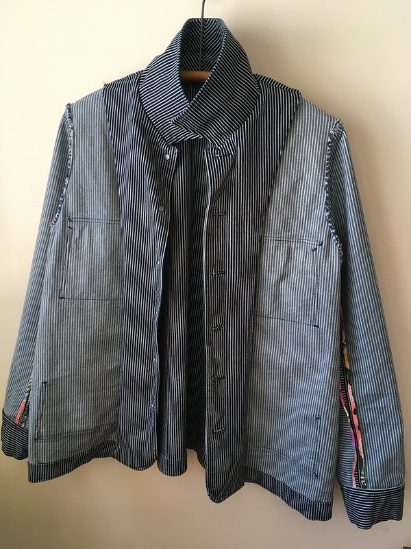 Simplicity 4109 Jacket in Railroad Denim