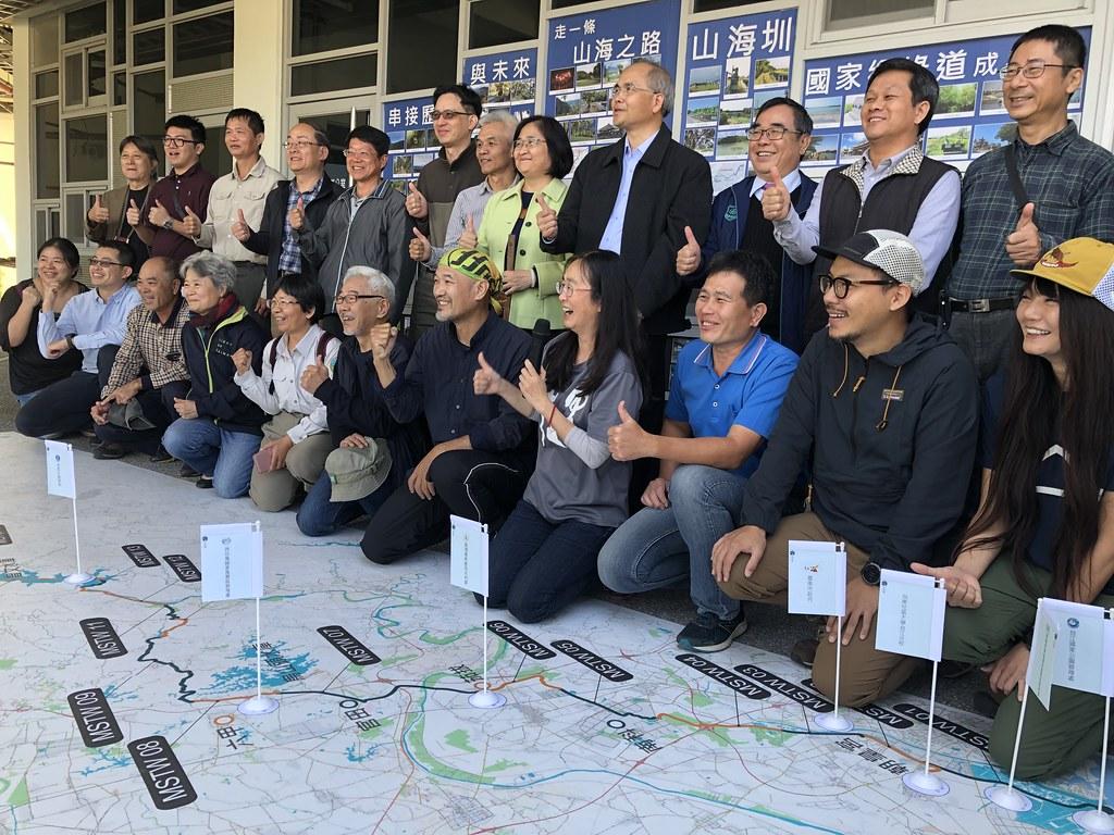 山海圳國家綠道結合公私協力、部會跨域等13個單位合作。攝影:廖靜蕙
