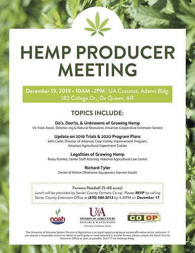 Hemp production meeting-updated