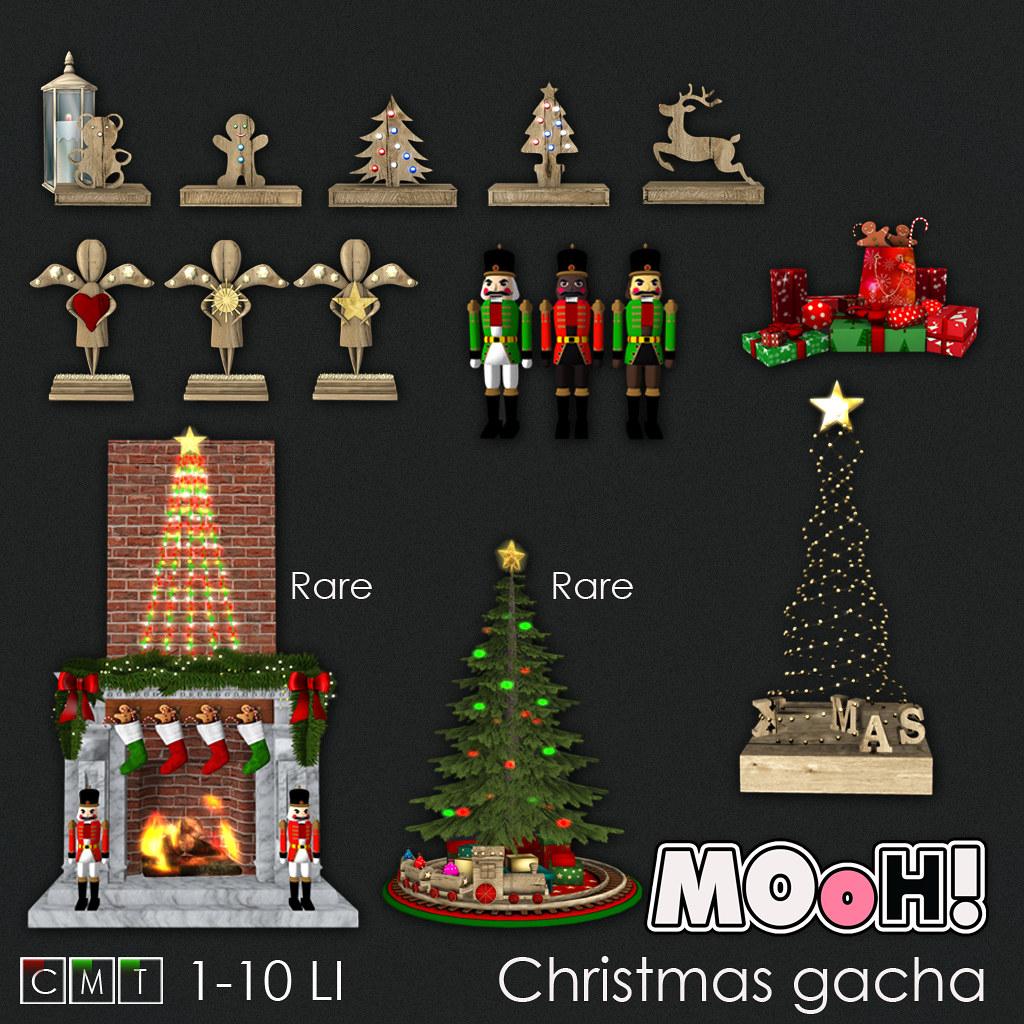 MOoH! Christmas gacha