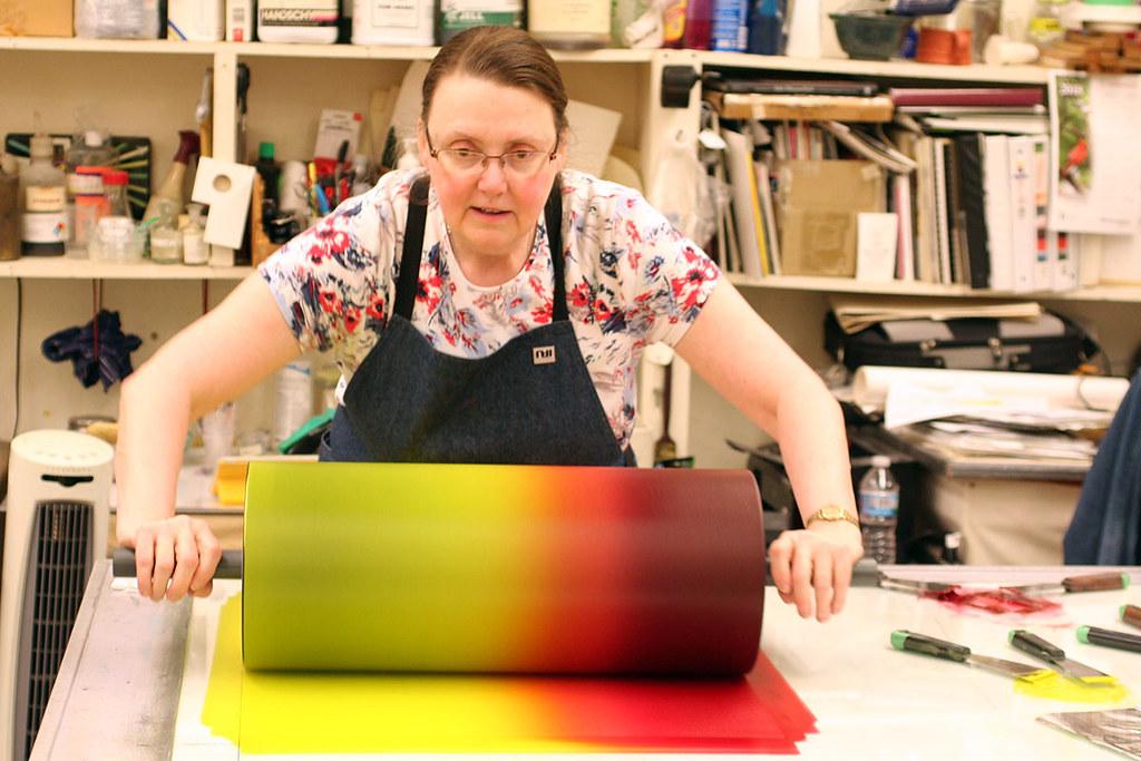 3-color blend roll
