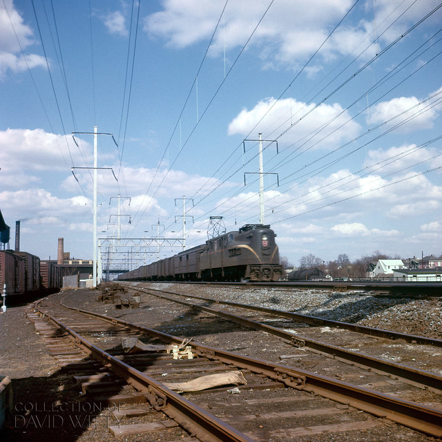 GG1 With Train, New Brunswick NJ