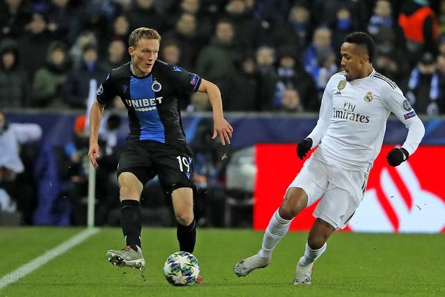 Club Brugge - Real Madrid 11-12-2019