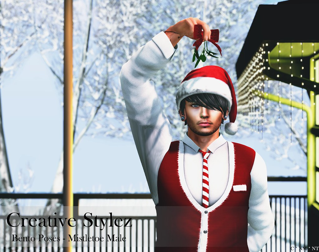 Creative Stylez – Bento Poses – Mistletoe Male –