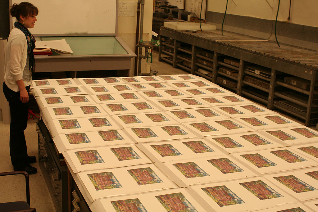 curating the printed impressions
