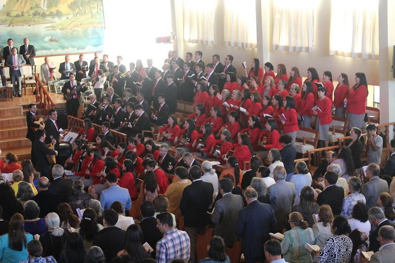 Hermoso servicio de Santa Cena en Iglesia de Chillán