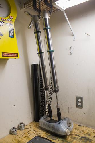 BETA 300 fork overhaul