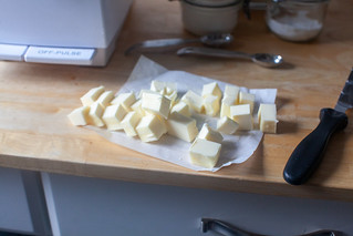 cold butter, nothing to soften