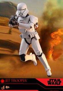 全新兵種突入空中戰場! Hot Toys – MMS561 -《STAR WARS:天行者的崛起》噴射風暴兵 Jet Trooper 1/6 比例人偶