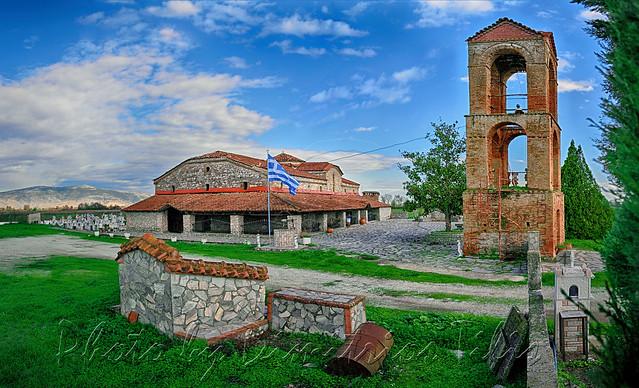 Άγιος Γεώργιος Γλίνους St,George Glinos panorama
