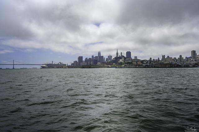 San Francisco from boat - California - USA