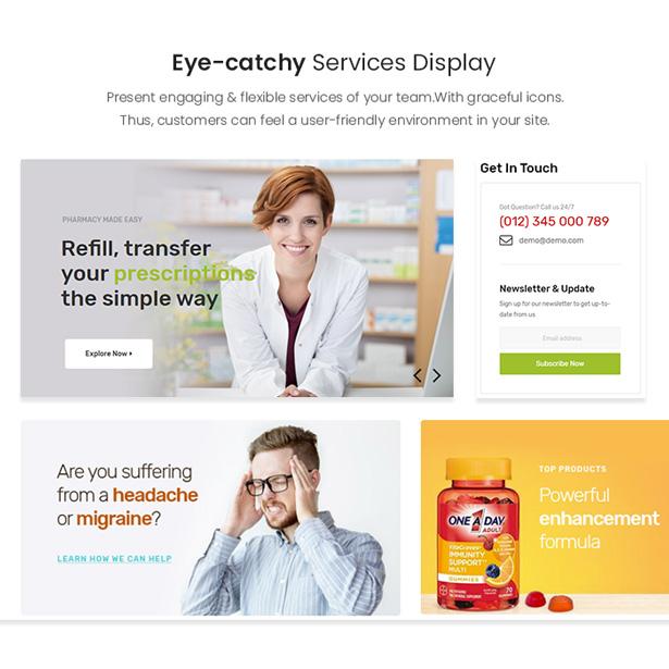 Medicor PrestaShop Pharmacy Template