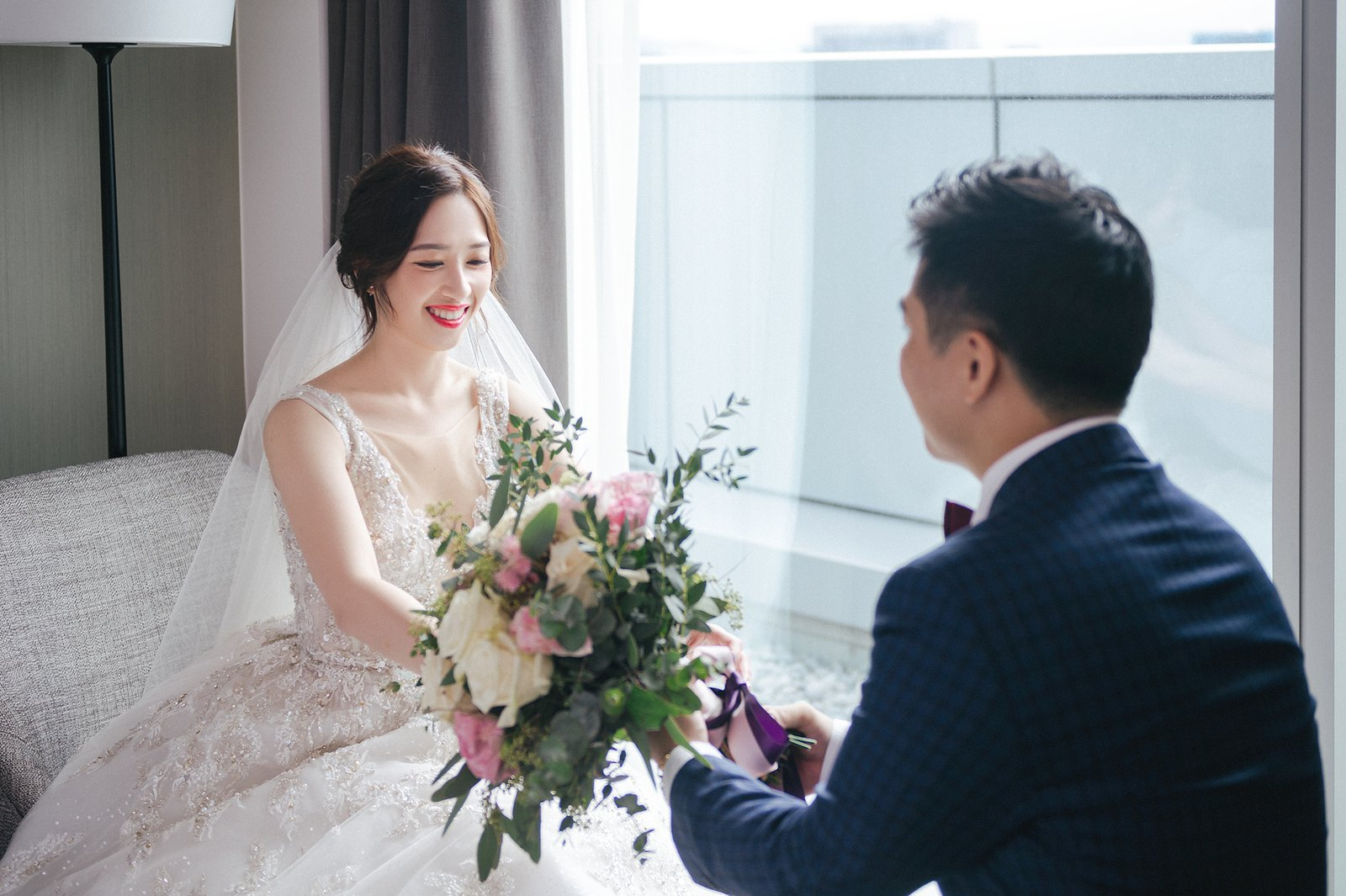 【婚攝】James & Lydia / Courtyard By Marriott Taipei Downtown台北國泰萬怡酒店