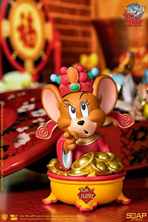 超可愛的小小財神駕到! Soap Studio《湯姆貓與傑利鼠》傑利鼠 (財神特別版) Jerry (God of Wealth Ver.)