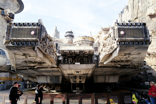 Millennium Falcon. Star Wars Galaxy's Edge at Disneyland California, 2019. Shot on Leica Q2 | by Sergey Galyonkin