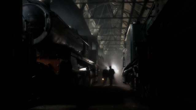 Night Time in the Depot - Number 2