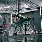 Sir Tom Finney sculpture in Preston