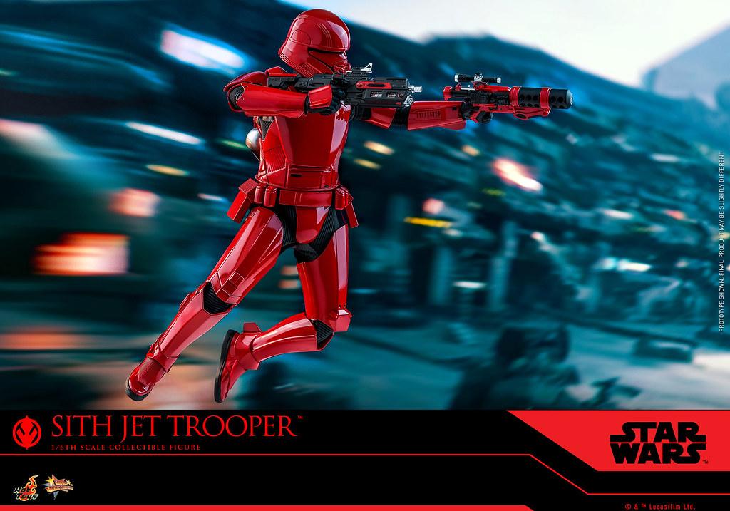 更具威懾感全紅配色! Hot Toys - MMS562 -《STAR WARS:天行者的崛起》西斯噴射風暴兵 Sith Jet Trooper 1/6 比例人偶