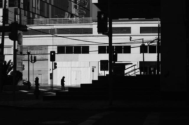 Siluetas En La Ciudad