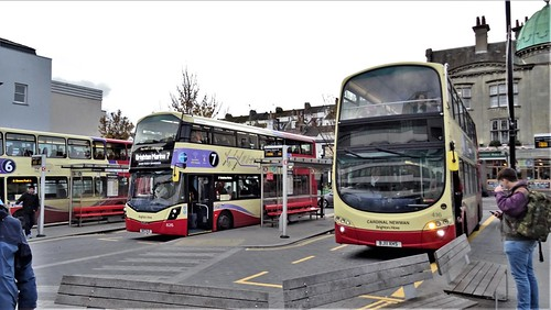 Brighton & Hove Buses 826 and 416 at Brighton Railway Station.