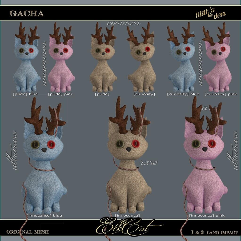 Lilith's Den – ElkCat Gacha