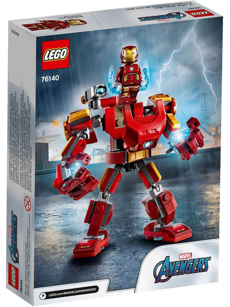 熱血的機甲主題、多位強力復仇者參戰! LEGO 76140~76143 漫威超級英雄系列 Marvel Super Heroes 多款盒組發表!