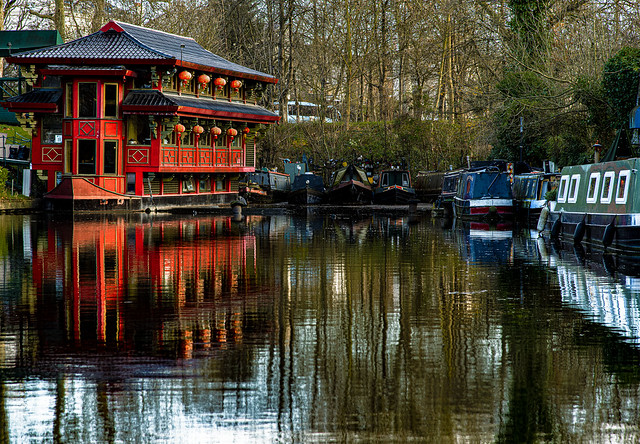 Feng Shang Floating Restaurant, Cumberland Basin, Regent's Canal, London