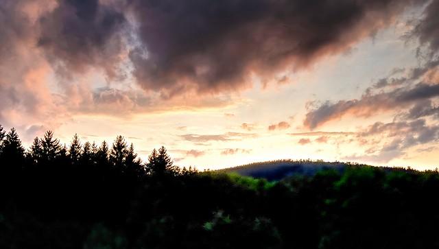 Abendlichter im Sauerland